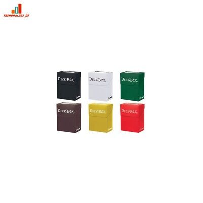 6 x Ultra Pro Deck Boxes Various Colours For Trading Card Game Storage,Pokemon,M