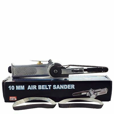 10mm Air Belt Sander Lever Throttle For Feature Control 3 Grit Sanding Belts