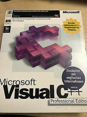 Microsoft Visual C++ 5.0 Professional Edition