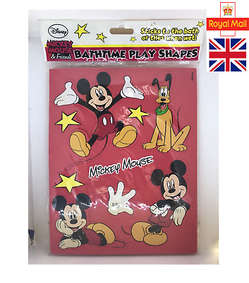 Disney Mickey Mouse And Friends Bath Time Shape - Uk Seller