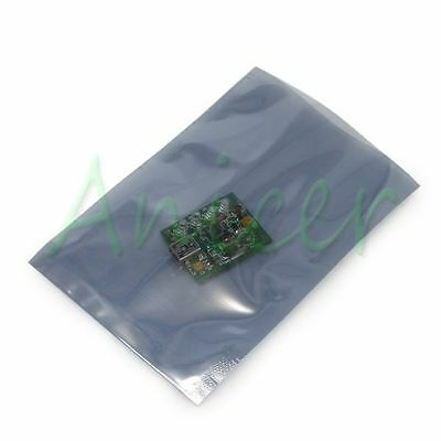 10pcs 120mm x 80mm Open-Top Anti-Static ESD Pack IC Chipset Shielding Bags