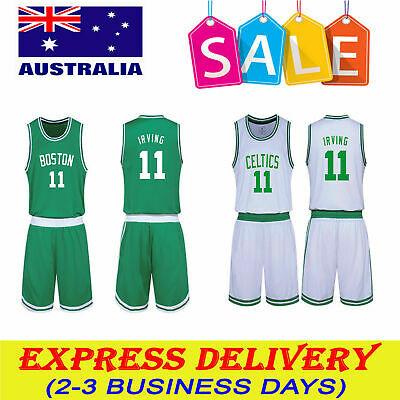 quality design 89a09 cef54 KYRIE IRVING #11 Kids Children's Youth NBA basketball jersey Boston Celtics