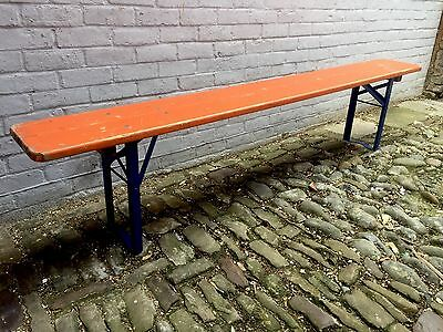 German Beer Benches Heavy Duty Vintage Garden Industrial Dinning Table Chair