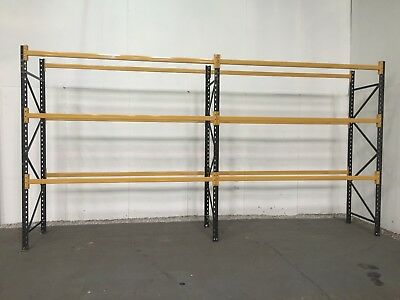 Pallet racking, Industrial warehouse racking, 5000mm Height,  7,8,9 or 10 BAYS