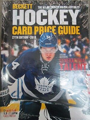 Beckett 2018 Hockey Card Annual Price Guide 27Th Edition