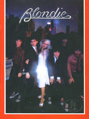 BLONDIE 1979 Parallel Lines Tour Concert Program Book Programme Deborah Harry