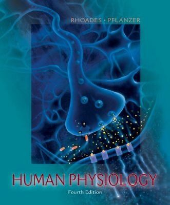Human Physiology Fourth Edition, Rhoades Pflanzer (includes CD)