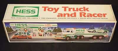 1991 Hess Truck Brand New Toy Truck And Racer NIB