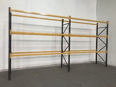 Pallet racking, Industrial warehouse racking, 5000mm Height, 4, 5, or 6 BAYS