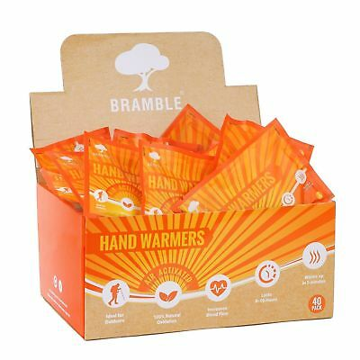 40 Hand Warmers Hand Warming Pads Outdoor Camping - Provides 10 Hours Of Heat