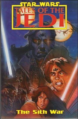 Star Wars TALES OF THE JEDI THE SITH WAR Trade Paperback Graphic Novel TPB TOTJ