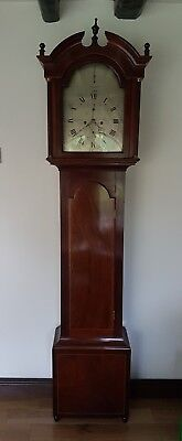 A fine George III longcase clock by John Cummins, Banff. Excellent quality