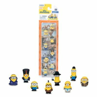 New Minions 8 Mini Figure Pack Bob Kevin Stuart Set Official