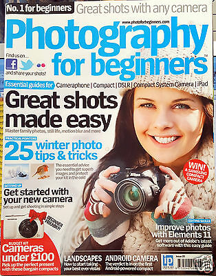 Photography For Beginners Magazine no 20 2012 ADOBE PHOTOSHOP ELEMENTS v11 NIKON