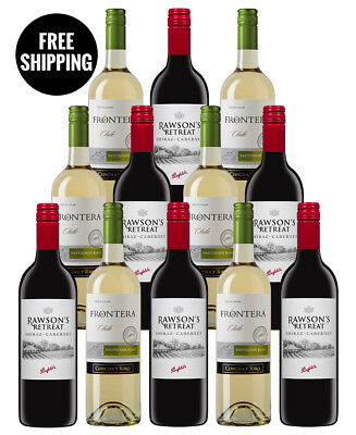 Penfolds And Frontera Bundle (12 Bottles)