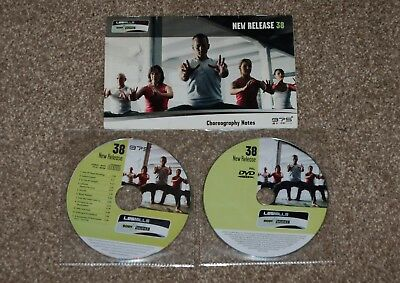 Les Mills Body Balance 38 CD & DVD with choreography notes