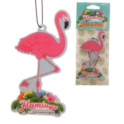 Flamingo Car Air Freshener for home van Pina Colada Novelty Hanging Freshner