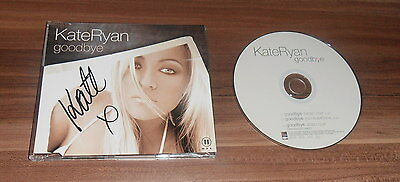 Kate Ryan, original signed CD Cover *Goodbye* mit CD