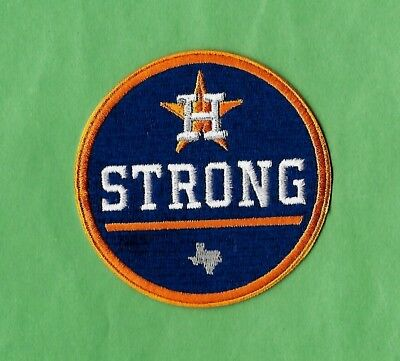 "🔥HOT HOUSTON STRONG Hurricane World Series Champs 3"" Iron on Patch Free Ship"