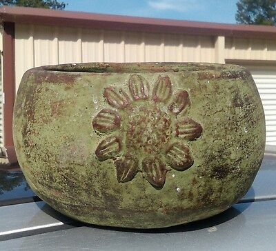 Large Ancient Chinese or Asian pottery bowl or pot