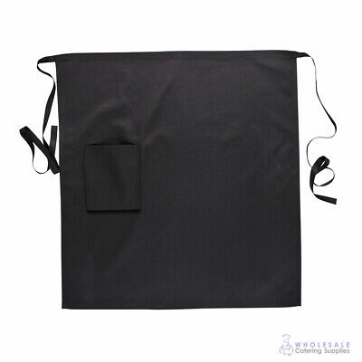 Apron Black Kitchen Half Waist Chef Cook Waiter Barista Portwest Hospitality