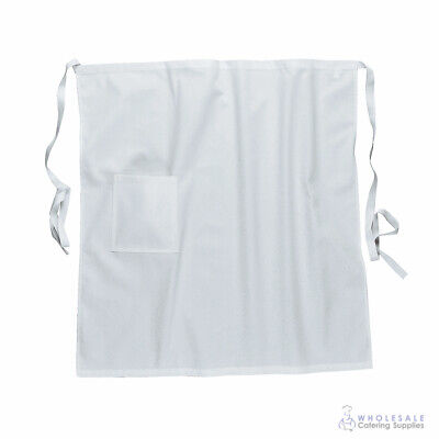 Apron White Kitchen Half Waist Chef Cook Waiter Barista Portwest Hospitality
