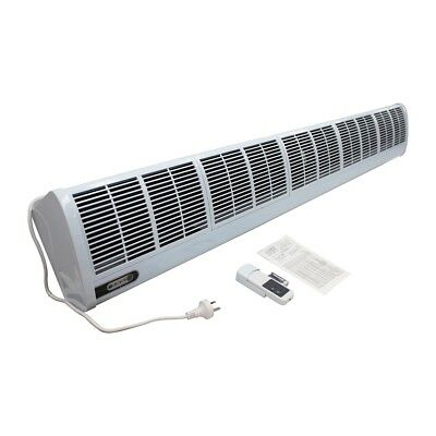 Best Price 1200mm Air Curtain w/Remote Control 3 Speed Noiseless Plug-in