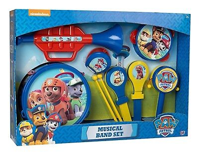 Nickelodeon Paw Patrol Musical Instruments Set Kids Band Toy Pretend Play Gift