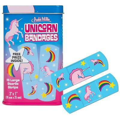 Unicorn Band Aids Kitsch Unique Gift Kids Magic Fun Novelty Bandages Plasters