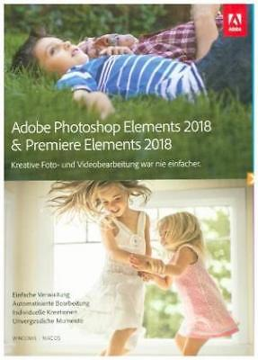 Adobe Photoshop and Premiere 2018 (Mac/Win) NEW