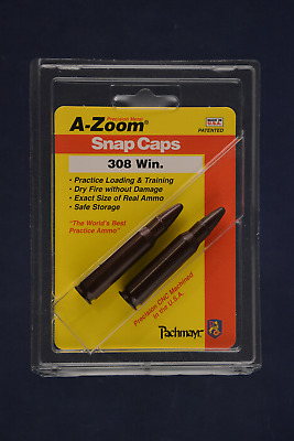 A-Zoom Snap Caps for 308 Winchester 7.62x51 Nato Azoom 12228