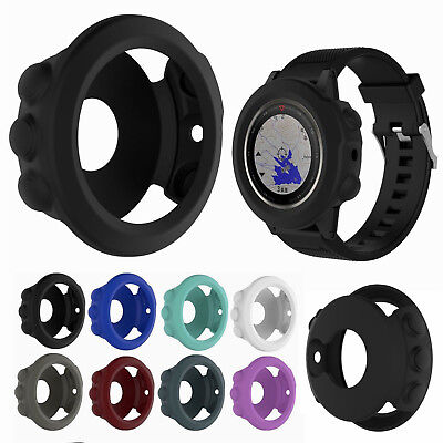 Silicone Rubber Band Cover Case Screen Protector Sleeve for Garmin Fenix 5 5X