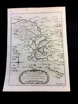 Authentic Map Of Mexico 1754