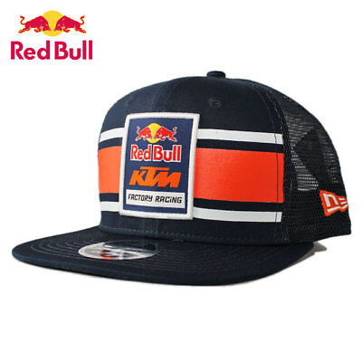 Classic Authentic KTM Racing RED BULL Navy Snapback Trucker Hat(LIMITED EDITION)