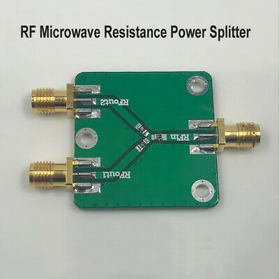 RF Microwave Power Divider Splitter 1 to 2 Combiner SMA DC~5GHz 6dB