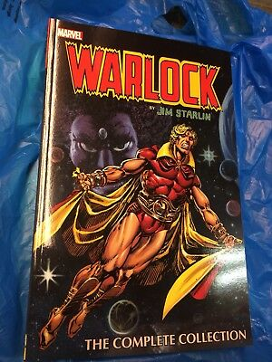 """Adam Warlock first (1st) #1 owner, Omnibus (Him) """"The Complete Collection"""""""