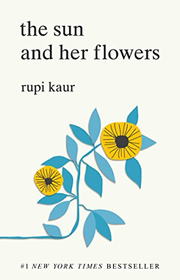 The Sun and Her Flowers by Rupi Kaur Paperback 2017 NEW Best Selling Book Poetry