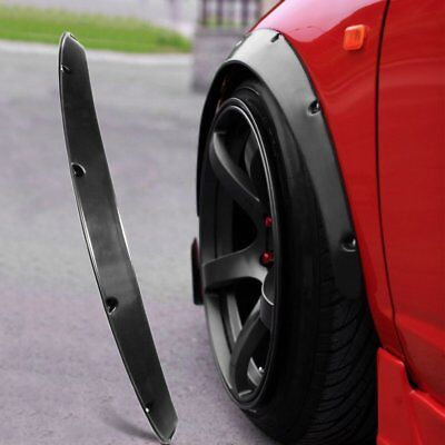 4pcs Universal Widened JDM Fender Flares Wheel Arch 2 inch ABS Car Fittings XP