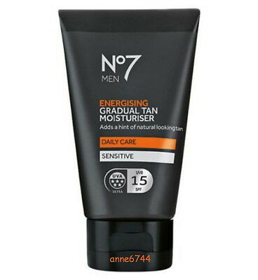 No7 Men Energising Gradual Tan Moisturiser - 50ml - New/factory Sealed