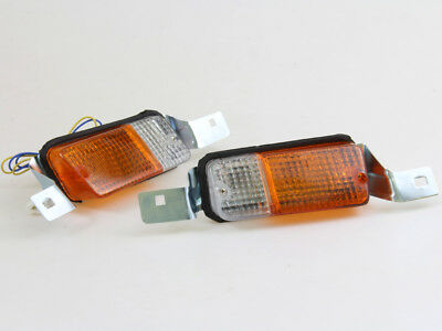 Toyota Corolla Ke30 Ke35 Te37 Te31 New Front Parking Signal Lamps Pair 1974-1980