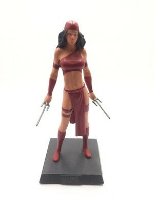 Figurine sur socle Eaglemoss MARVEL N°17 Elektra
