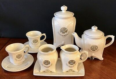French Provincial Brand New 10 Piece- Stunning Tea Set