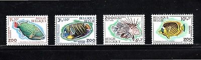 "Belgium 1968 ""Solidarity"" and 125th Anniversary of Antwerp Zoo SG 2092/5 MUH"