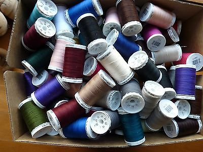 Gutermann Sew-All Thread 500m, Sewing Thread, 100% Polyester, Select Colour