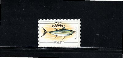 Tonga 1984 $5 Yellow-finned tuna - Official SG O235 MUH