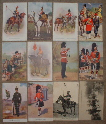 LOT 41 de 12 CPA ARMEE ANGLAISE