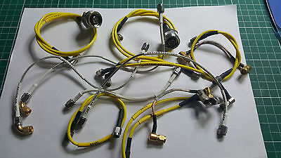 Various Suhner RF Cables , SMA , N , EX MOD