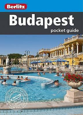 Berlitz: Budapest Pocket Guide (Berlitz Pocket Guides), Berlitz, New Book