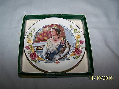 Staffordshire 80th Birthday of HM Queen Elizabeth the Queen Mother 4/8/1980 Dish