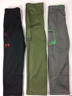Boy's Youth Under Armour Coldgear Loose Fit Storm Sweat Pants